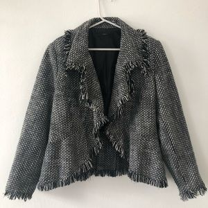 Black / White Houndstooth Jacket